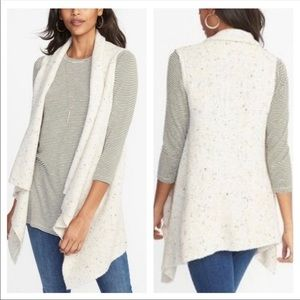 Old navy cream color sweater vest